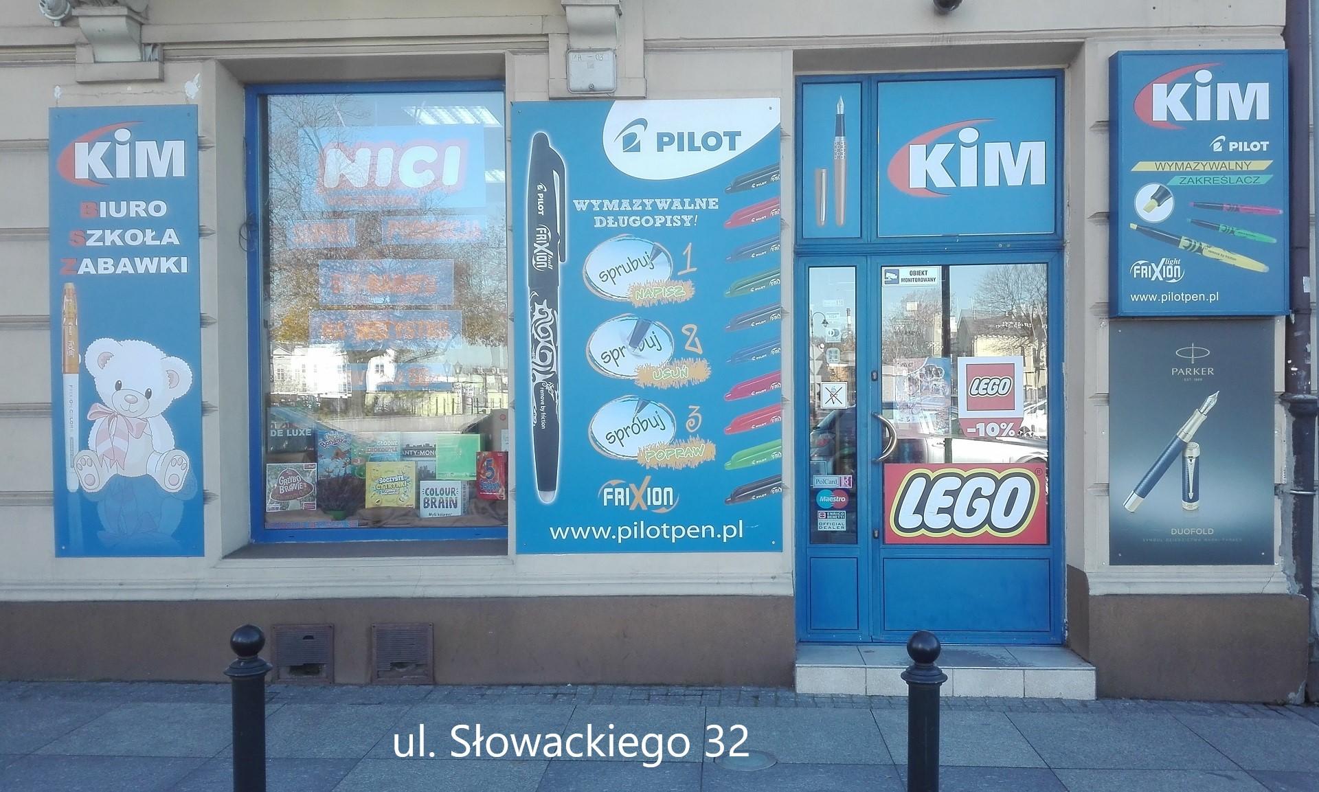 sklep KIM Słowackiego 32